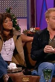 Saskia Webber and Christopher Jones in On Q Live (2004)
