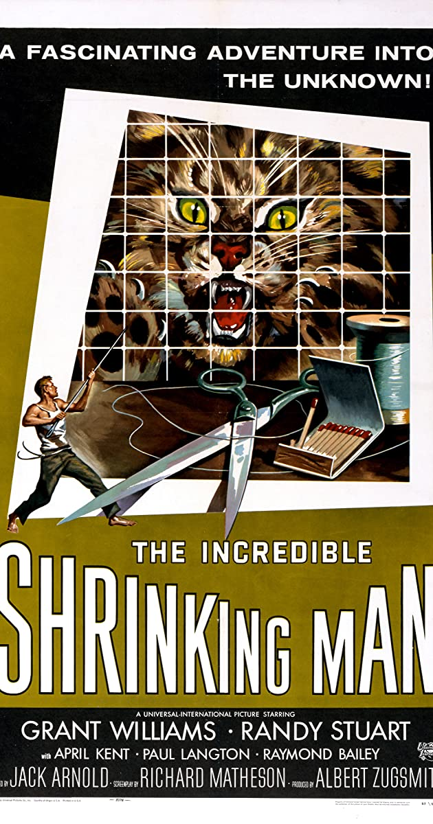 incredible shrinking man full movie