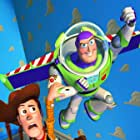 Tom Hanks and Tim Allen in Toy Story (1995)