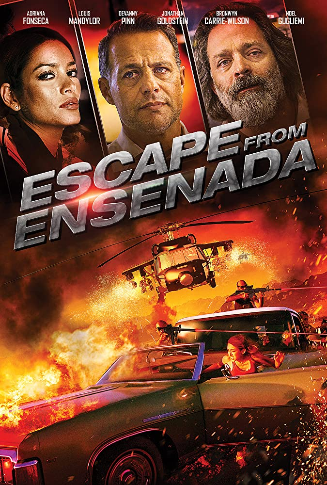 Escape Plan (Escape From Ensenada) 2018 Hindi Dubbed 200MB HDRip 480p x264