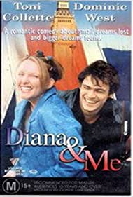 Toni Collette and Dominic West in Diana & Me (1997)