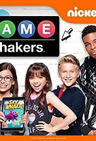 Kel Mitchell, Madisyn Shipman, Benjamin Flores Jr., Thomas Kuc, and Cree Cicchino in Game Shakers (2015)