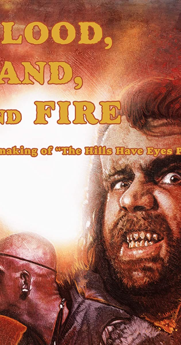 Subtitle of Blood, Sand and Fire: The Making of 'The Hills Have Eyes Part 2'