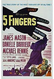 ##SITE## DOWNLOAD 5 Fingers (1952) ONLINE PUTLOCKER FREE