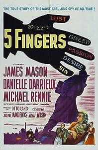 All movie video download 5 Fingers by Joseph L. Mankiewicz [[movie]