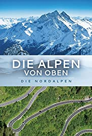 Die Alpen von oben Poster