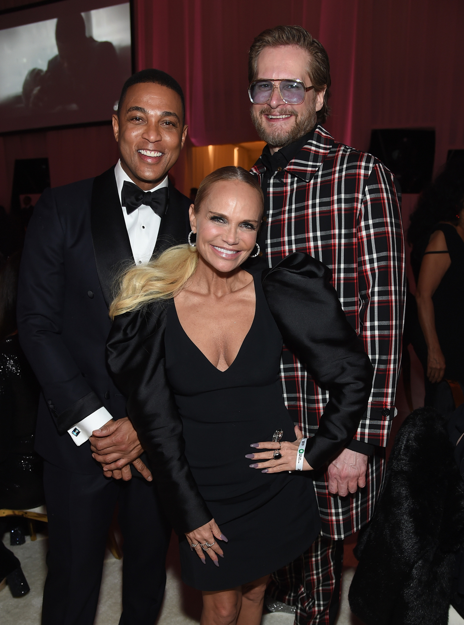 Kristin Chenoweth, Bryan Fuller, and Don Lemon at an event for The Oscars (2019)