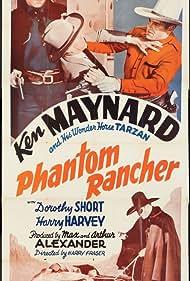 Ted Adams and Ken Maynard in Phantom Rancher (1940)
