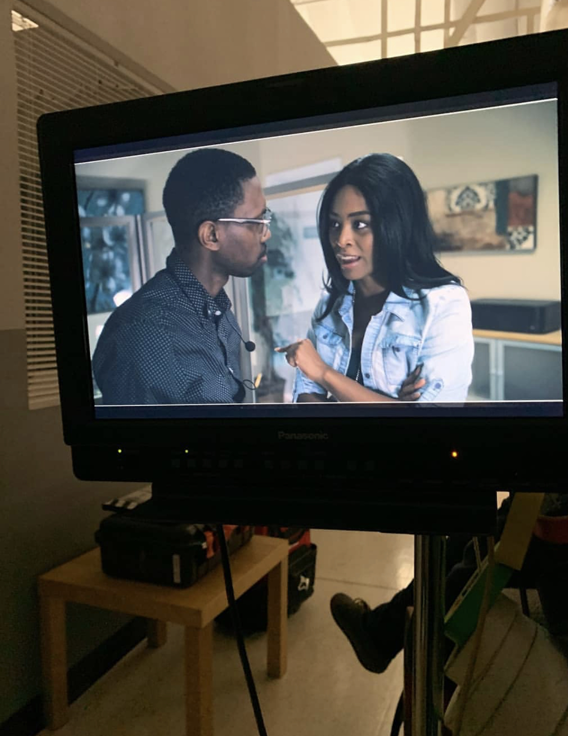 Melvin Jackson Jr. and Jasmine Hester in Chronicles of Jessica Wu (2017)