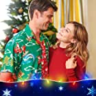 Corey Sevier and Julianna Guill in Grounded for Christmas (2019)