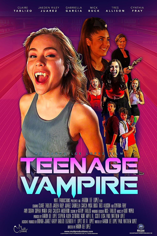 Teenage Vampire 2021 English 720p HDRip 800MB Download