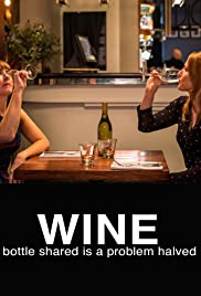 Wine, a bottle shared is a problem halved Poster