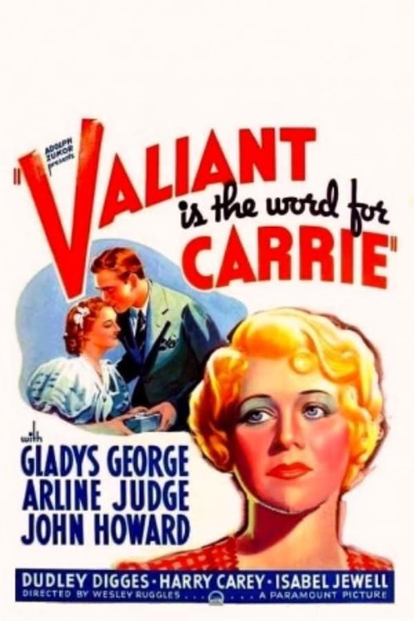 Gladys George, John Howard, and Arline Judge in Valiant Is the Word for Carrie (1936)