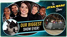 The Rise of Skywalker Cast, Galaxy's Edge, Giant Screen Gaming and Adorable Animals, Oh My!