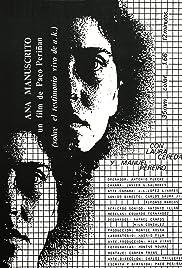 Ana manuscrito Poster