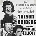 Bill Elliott, George 'Gabby' Hayes, and Peggy Stewart in Tucson Raiders (1944)