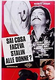 Sai cosa faceva Stalin alle donne? Poster
