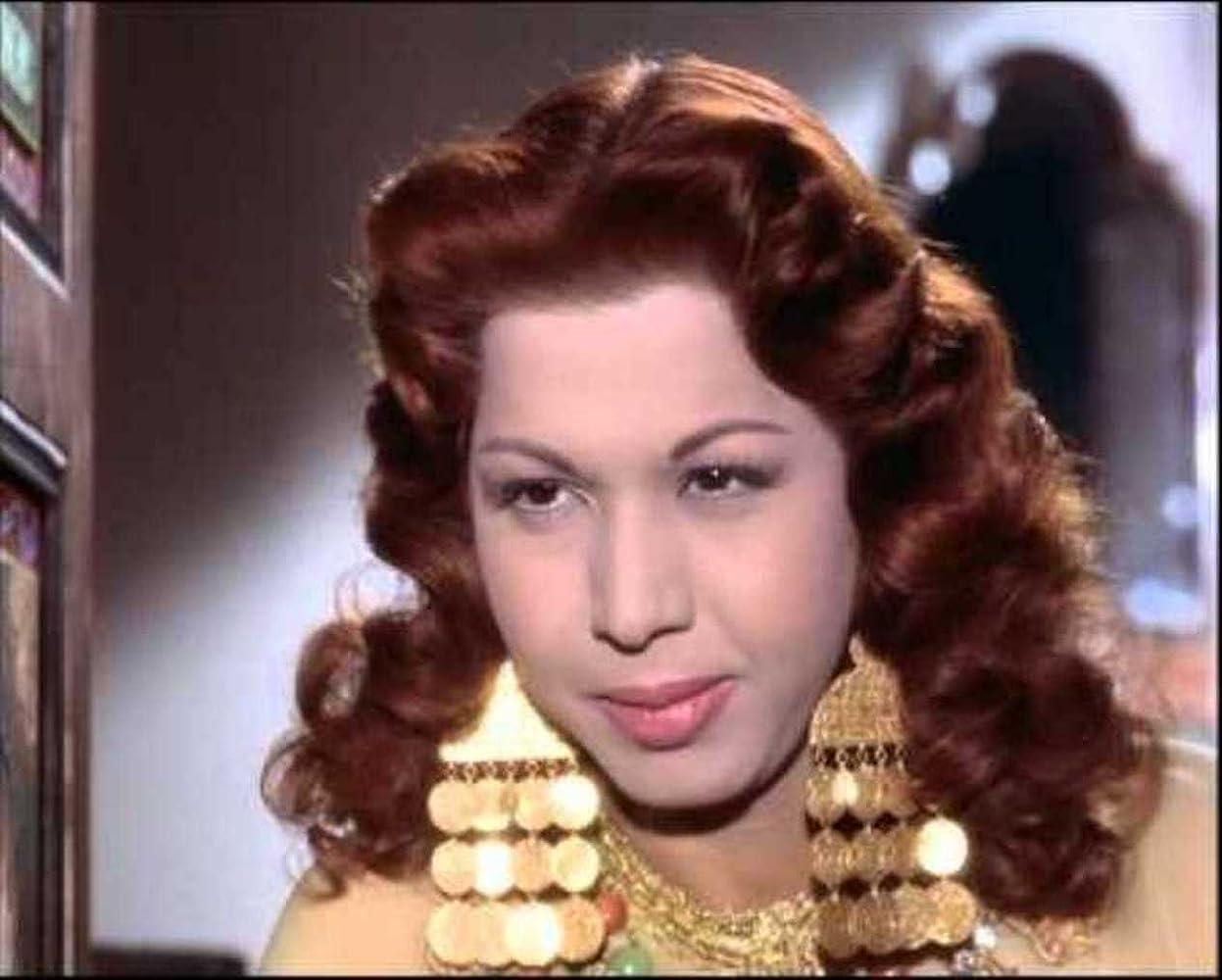 Samia Gamal in Ali Baba et les 40 voleurs (1954)