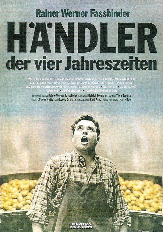 Hans Hirschmüller in Händler der vier Jahreszeiten (1972)