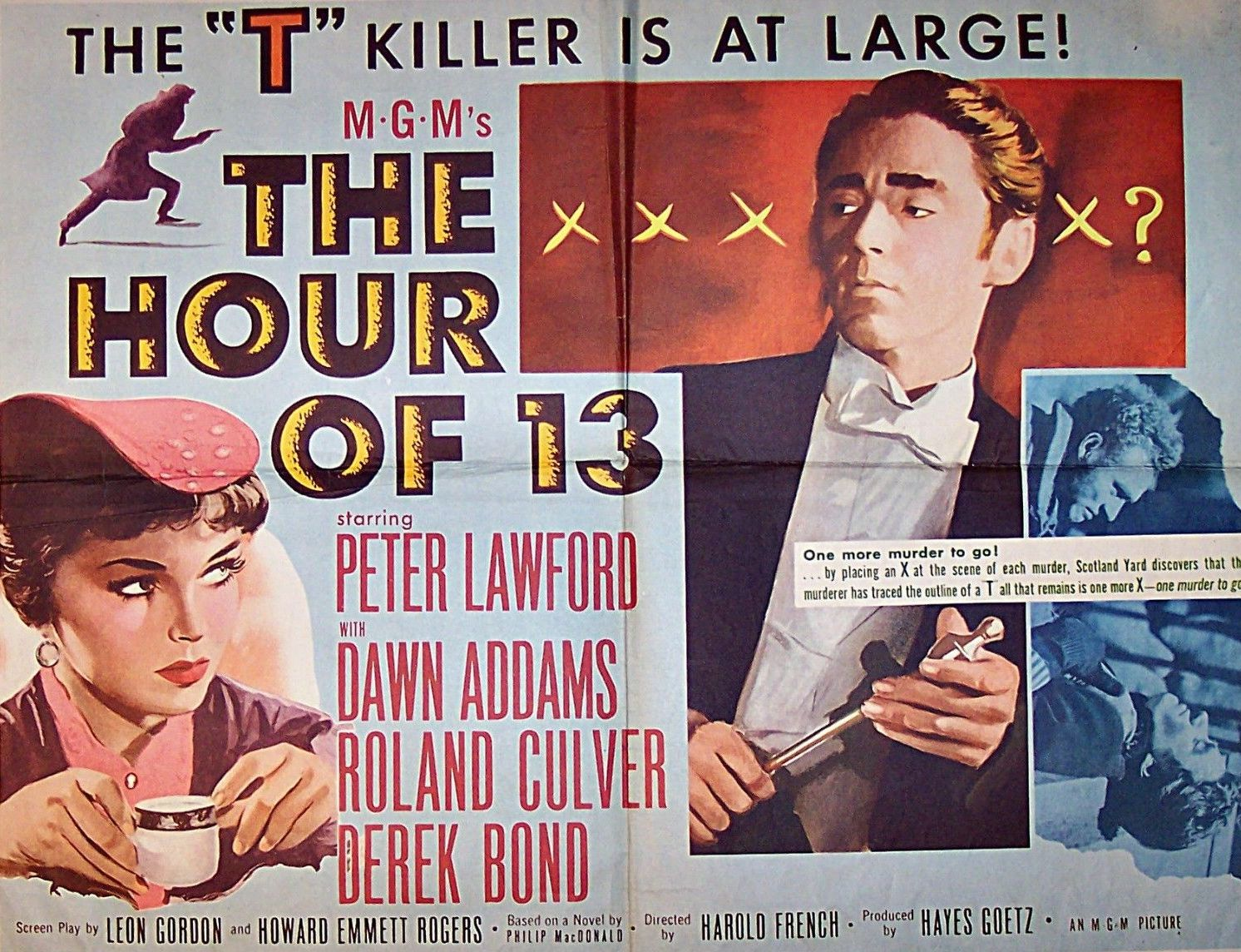 The Hour of 13 (1952)
