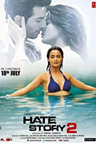 Jay Bhanushali and Surveen Chawla in Hate Story 2 (2014)