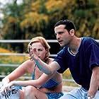 Dror Shaul and Danielle Miller in Mivtza Savta (1999)