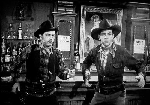 Pierce Lyden and Ted Mapes in Flame of the West (1945)