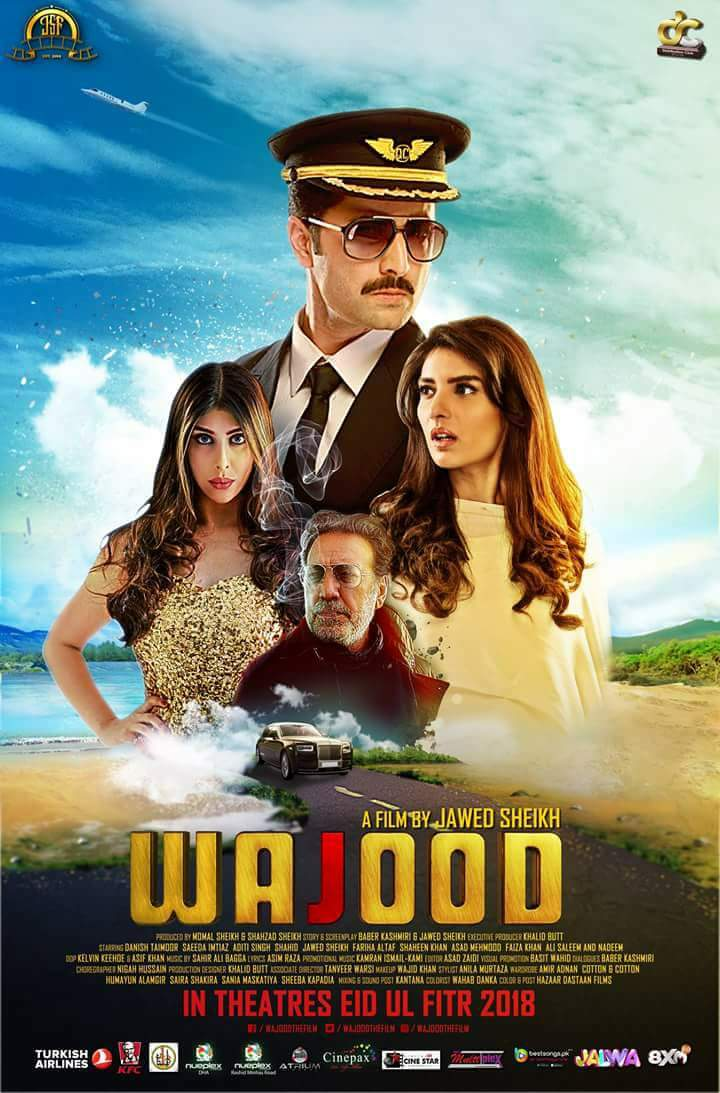 Wajood (2018) Urdu 720p HEVC HDRip x265 AAC ESubs Full  (650MB) Full Movie Download
