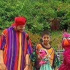 Fran Brill, Savion Glover, Martin P. Robinson, and Jason Samuels in Sesame Street Jam: A Musical Celebration (1993)
