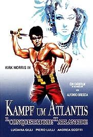 The Conqueror of Atlantis Poster