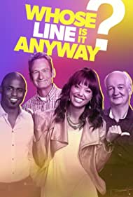 Wayne Brady, Colin Mochrie, Ryan Stiles, and Aisha Tyler in Whose Line Is It Anyway? (2013)