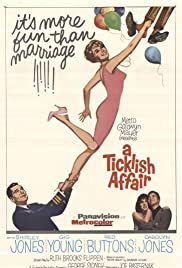 A Ticklish Affair (1963) Poster - Movie Forum, Cast, Reviews
