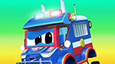 Police Truck investigates/The forklift's missing mission/An energy canister has been stolen/Training turns into a disaster
