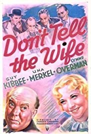 Don't Tell the Wife Poster