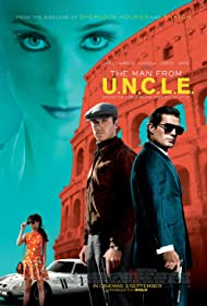 Henry Cavill, Armie Hammer, Alicia Vikander, and Elizabeth Debicki in The Man from U.N.C.L.E. (2015)