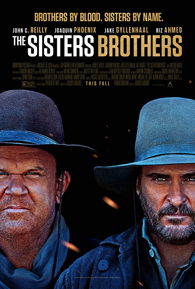 John C. Reilly and Joaquin Phoenix in Les Frères Sisters (2018)