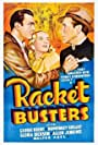 Humphrey Bogart, George Brent, and Gloria Dickson in Racket Busters (1938)