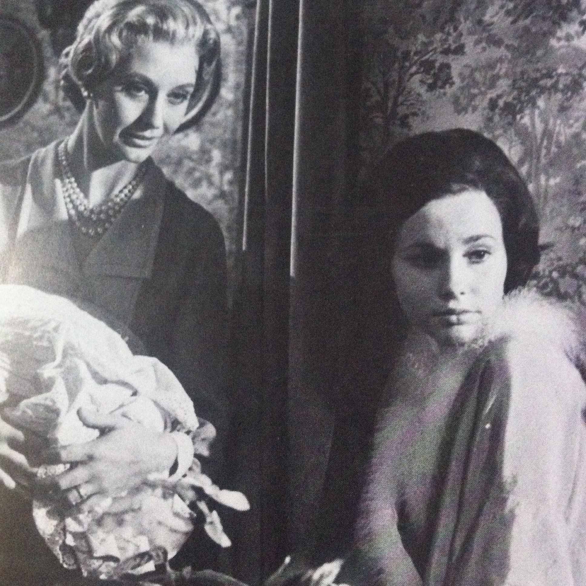 Karin Fernald and Nyree Dawn Porter in The Forsyte Saga (1967)