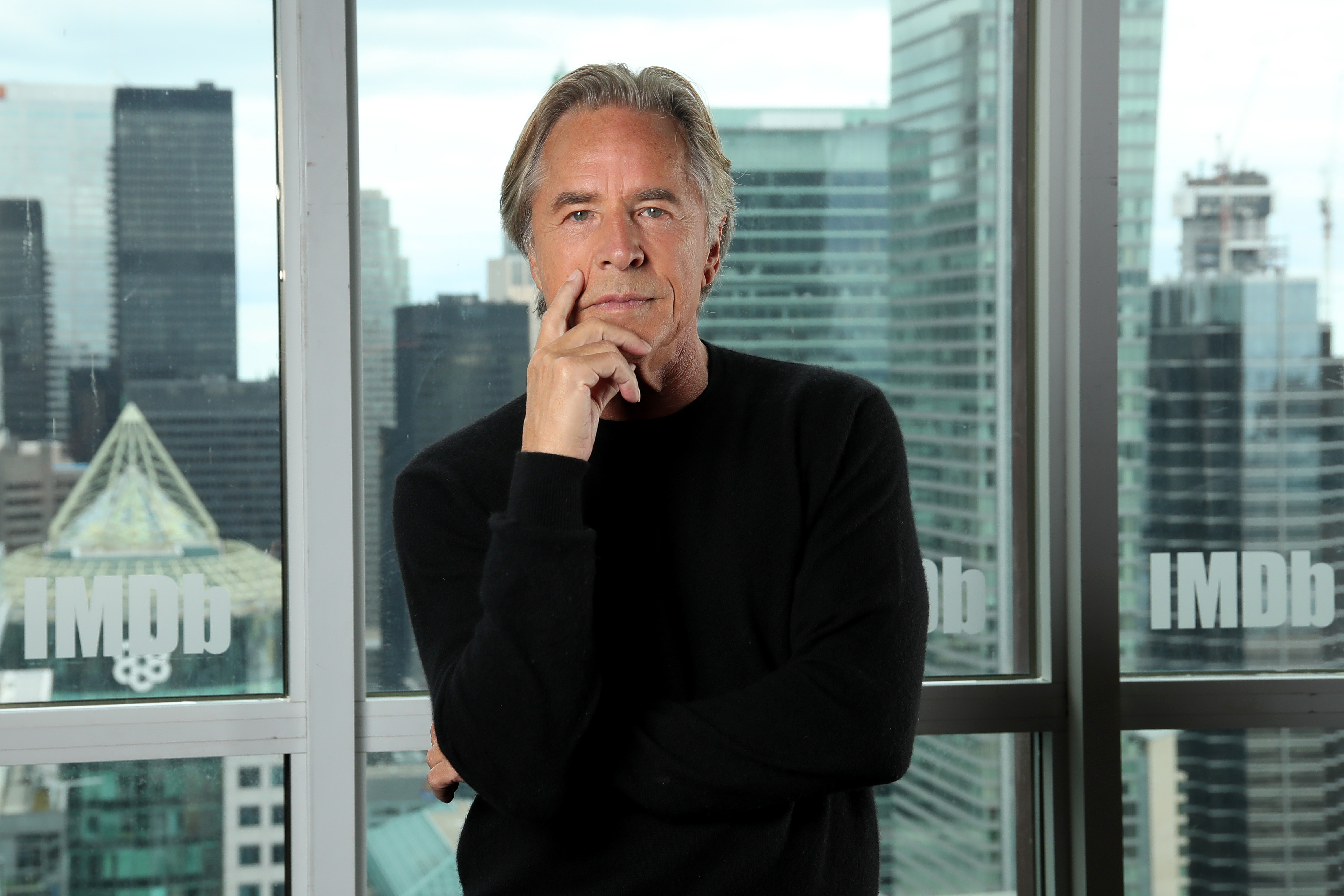 Don Johnson at an event for Knives Out (2019)