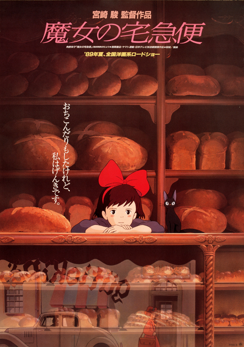 Kiki's Delivery Service (1989) BluRay 480p, 720p & 1080p