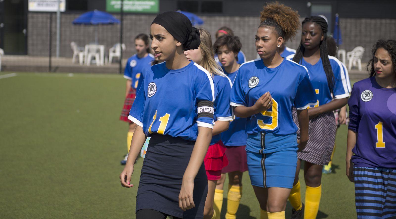 voetbal meisjes