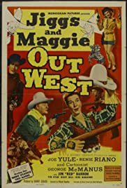 Jiggs and Maggie Out West Poster