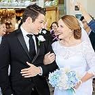 Jeff Schine and Katie Leclerc in A Bride's Revenge (2019)