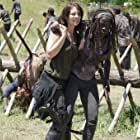 Lauren Cohan and Danai Gurira in The Walking Dead (2010)