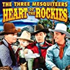 Ray Corrigan, Robert Livingston, Max Terhune, and Elmer in Heart of the Rockies (1937)