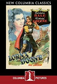 Richard Greene and Barbara Hale in Lorna Doone (1951)
