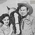 Rex Allen, Mary Ellen Kay, and Koko in Thunder in God's Country (1951)
