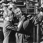 Karin Baal and Joachim Fuchsberger in Die toten Augen von London (1961)