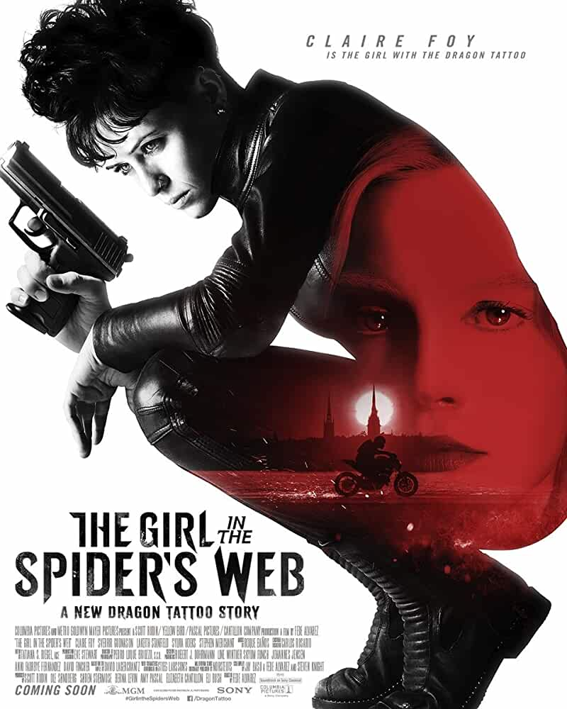 The Girl in the Spiders Web (2018) HDRip 720p [Hindi (HQ Line Audio) + Eng]1GB