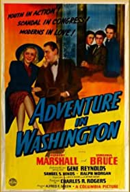 Herbert Marshall, Tommy Bond, Virginia Bruce, Dickie Jones, and Charles Smith in Adventure in Washington (1941)